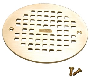 PROFLO® 6 in. Brass Grate PF42842