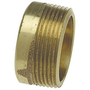 Drainage Waste and Vent Cast Copper x Male Trap Adapter CCDWVMTA