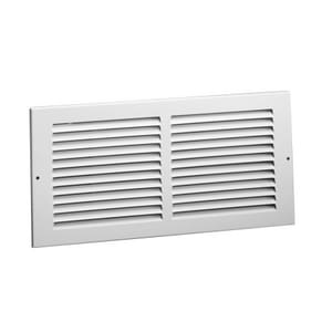 Hart & Cooley 16 x 8 in. Return Air Grille White H672W16X