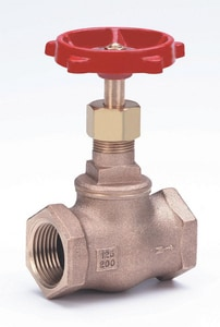 Milwaukee Valve 125# Bronze Threaded Bonnet Globe Valve M502