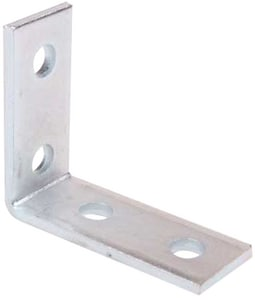 Thomas & Betts 90 Degree Steel Angle Fitting with 2 Holes TAB202EC