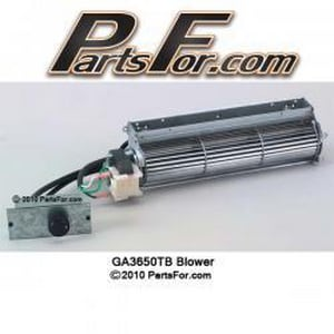 Innovative Hearth Products Thermostat Control Blower System FGA3650TB