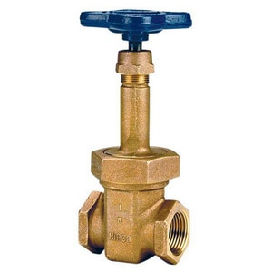 Nibco 125# Bronze Threaded Rising Stem Gate Valve NT124