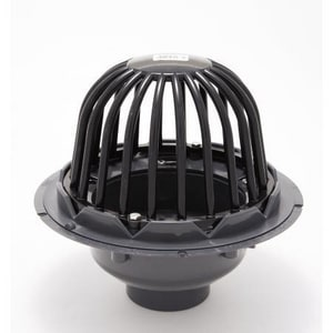 PROFLO® PVC Roof Drain with Cast Iron Dome for Flat Roof PF42850