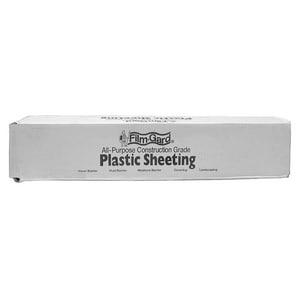 Jones Stephens 8 in. 4 mil Bulk Plastic Sheeting in Clear JS08100