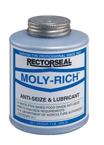 Rectorseal Moly-Rich™ 16 oz. Molybdenum Rich Anti-Seize Compound REC71431