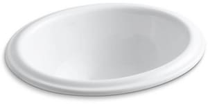 Kohler Intaglio® No-Hole Drop-In Bathroom Sink K2292