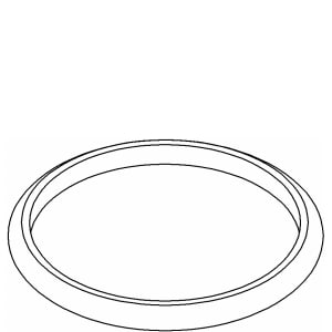 Kohler Decorative Ring in Polished Chrome K77945-CP