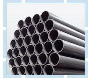 Black Plain End Flow Pipe DBPPEA135FLOWL