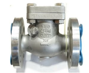 Crane Valve/Crane Energy Flow Sol 150# Stainless Steel Flanged Swing Check Valve C377