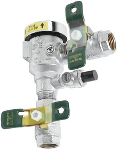 T&S Brass 1/2 in. NPT Inlet and Outlet Vacuum Breaker Continous Pressure Ball Valve TB0963