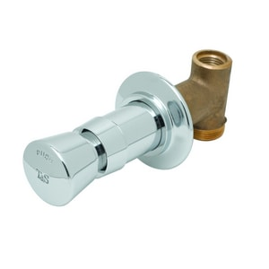 T&S Brass Concealed Straight Slow Self-Closing Valve TB1029