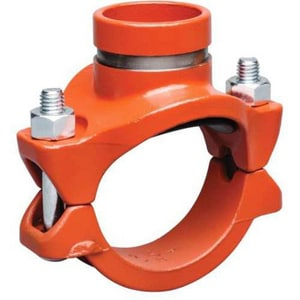 Victaulic Style 920 FIP Ductile Iron Mechanical Reducing Tee VC92NPE0