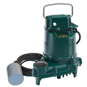 Zoeller 115V 1/3 HP Variable Level Float Switch Effluent Pump Z5300