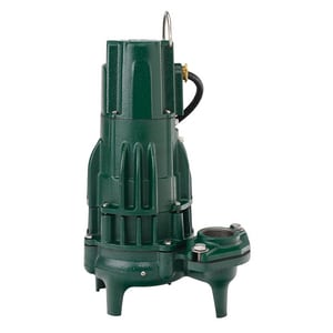 Zoeller Waste-Mate 115V 1/2 HP Cast Iron Hand Held Manual Sewage Pump Z2920002