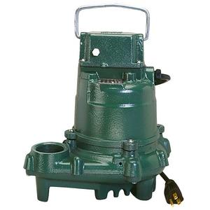 Zoeller 115 V Cast Iron Non-Automatic Effluent Submersible Pump Z570002