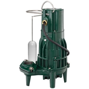 Zoeller 1/2 hp 60 gpm Automatic Sewage Pump Z1630001 at Pollardwater