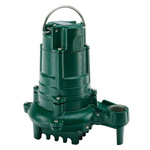 Zoeller 115V 1/2 HP Cast Iron Non Auto Effluent Pump Z1370002