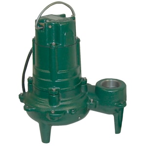 Zoeller Waste Mate 115V 1Ph Cast Iron Submersible/Effluent Sewage Pump Z2700002