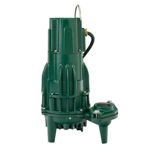 Zoeller 115V 1/2 HP 15.5 Amp Manual Effluent Pump Z1610002