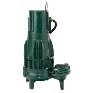 Zoeller Waste-Mate 230V 1-1/2HP High Head Non-Automatic Cast Iron Sewage Pump Z2940004 at Pollardwater