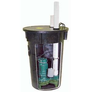 Zoeller Sewage Pump & Basin System Z9120017