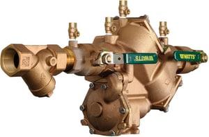 Watts MNPT Reduced Pressure Zone Backflow Preventer with Bronze Strainer W909M1QTS