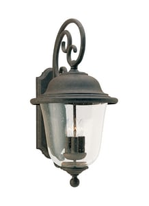 Seagull Lighting Trafalgar 12 in. 60 W 3-Light Candelabra Lantern S846146