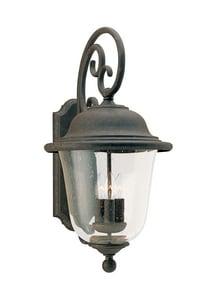 Seagull Lighting Trafalgar 12 in. 60 W 3-Light Candelabra Lantern S846146