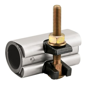 Ford Meter Box 3/4 x 6 in. Wrap Clamp with Gasket 1.05 in. OD FFSC1056R