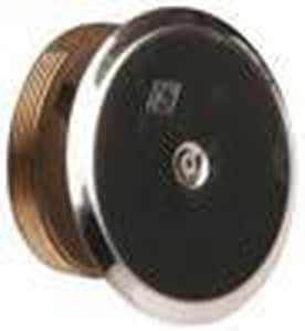 Jay R. Smith Manufacturing 2 in. Tapered Thread Plug with 4 Cover Bronze S4472SSK