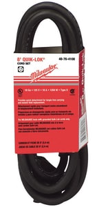 Milwaukee Quik-Lok® Twisted Style Plug Cord M48764108