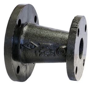 125# Threaded Black Cast Iron Concentric Reducer BCIFCR