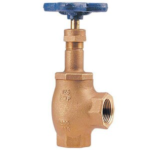 Nibco 125# Bronze Threaded Angle Globe Valve with PTFE Seat NT311Y