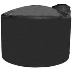 Norwesco 5000 gal. Water Storage Tank in Black N40641