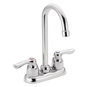 Moen M-Bition™ 1.5 gpm Double Lever Handle Commercial Bar Faucet M8957