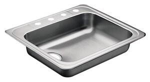 Moen 4-Hole Rolled Kitchen Sink M22131