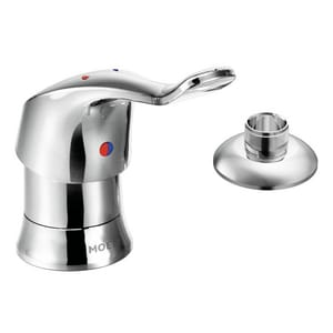 Moen M-Bition™ 2-Hole Single Lever Handle Deckmount Faucet in Polished Chrome M8125