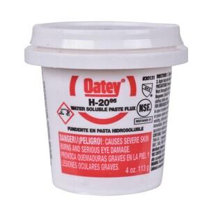 Oatey H-20® 4 oz. Water Soluble Paste Flux O30131