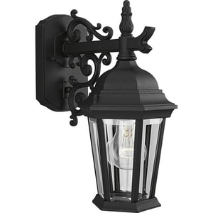 Progress Lighting Welbourne 13-1/16 x 6-1/4 in. 26W 1-Light Outdoor Wall Lantern PP5682