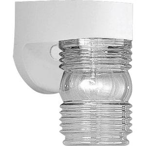 Progress Lighting 7-1/4 x 4-1/2 in. 60W 1-Light Outdoor Wall Lantern PP5612