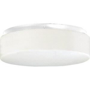 Progress Lighting 13 W 2-Light Outdoor Semi-Flush Mount Close To Ceiling Fixture PP7376