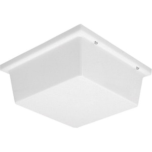 Progress Lighting Hard-Nox 4 x 10-1/2 in. 13W 2-Light Outdoor Ceiling Lantern PP7396
