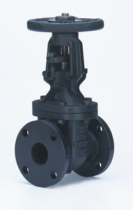 Milwaukee Valve 14 in. 125# Cast Iron Flanged Outside Stem & Yoke Gate Valve MF2885M12