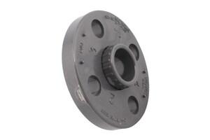 Xirtec® Socket Weld Schedule 80 Van Stone Style PVC Flange with Ring P80VSSF