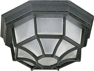 Quorum International 60 W 1-Light Medium Outdoor Semi-Flush Mount Ceiling Q308611