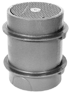 Zurn Industries No-Hub Heavy Duty Cleanout with Cast Iron Cover ZZ1474P