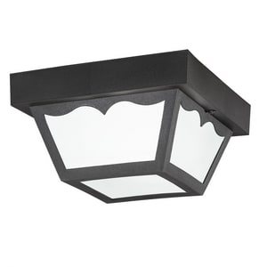Kichler Lighting 5 in. 1-Light Outdoor Flushmount Fixture KK9320