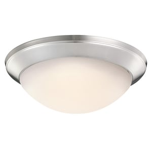 Kichler Lighting Ceiling Space 14 in. 100W 1-Light Flushmount Medium Ceiling Fixture KK8881
