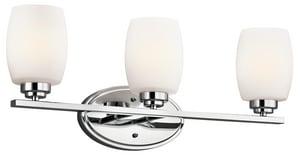 Kichler Lighting Eileen™ 6 in. 100W 3-Light Medium Bracket KK5098